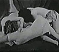 Drei Jungfrauen haben lesbischen Sex