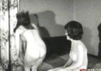 Vintage Kissenschlacht Porno