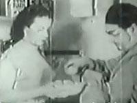 Behaarte Fotze im Porno von 1936