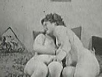 Rubens Lesben im Vintage Porno