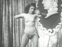 Striptease Tanz aus den 30ern