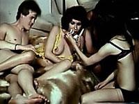Die wilden 70er Porno