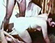 Ein Natursekt Fetisch Porno aus den 70ern