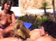 Geiler Gruppensex im Urlaub