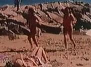 Geile nackte Hippie Mädchen