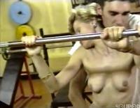 Im Fitnessstudio wird gefickt