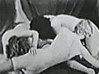 Seltener Lesbenporno aus den 30er Jahren