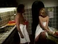 So liebe ich den Küchendienst deutscher Porno