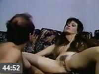 Behaarte Fotze im Vintage Pornofilm