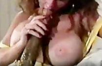 Alter Pornofilm mit extrem langen schwarzen Schwänzen