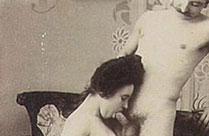 Alte schwarz-weiss Porno Bilder